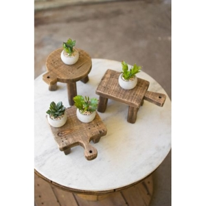 Cutting Board Risers - One Each Design Set of 3