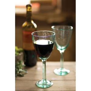 Recycled Wine Glass Set of 6
