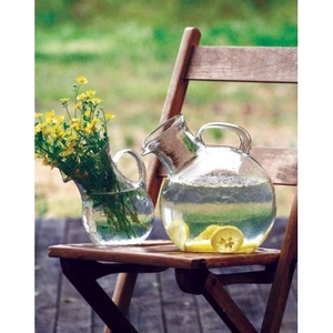 Small Mouthed Circular Tilted Pitcher
