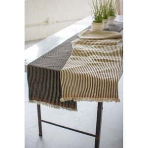 Cotton And Jute Table Runners Set of Two