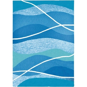 Tranquility Bay Indoor Outdoor Hand Hooked Area Rug, 8 X 10 Ft.