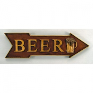Beer Directional Sign