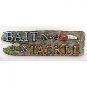 Bait & Tackle Sign