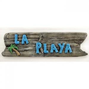 La Playa Beach Sign