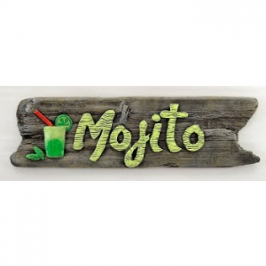 Mojito Beach Sign