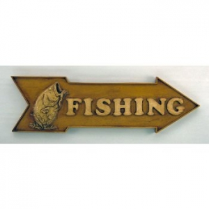 Fishing Directional Sign