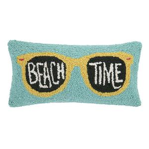 Beach Time Sunglasses Hook Pillow