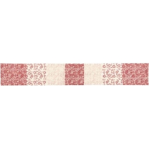 Danielle Red Table Runner 13x90