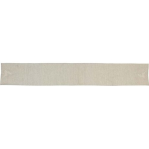 Creme Lace Deer Table Runner 13x90