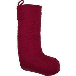 Red Felt Stocking 12x20