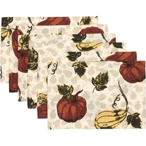 Harvest Garden Placemat Set of 6
