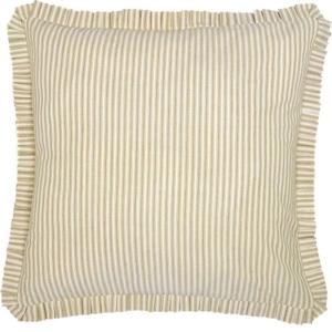 Joanna Ticking Stripe Fabric Euro Sham 26x26