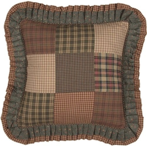 Crosswoods Patchwork Pillow 18x18