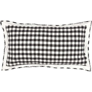 Annie Buffalo Black Check King Sham 21x37