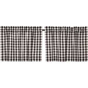 Annie Buffalo Black Check Tier Set of 2