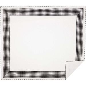 Annie Buffalo Black Check Luxury King Quilt 105x120