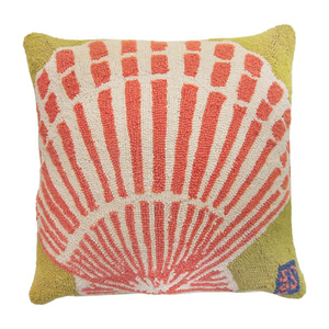 Scallop Seashell Hook Pillow