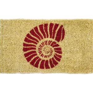 Nautilus Hand Woven Coconut Fiber Doormat