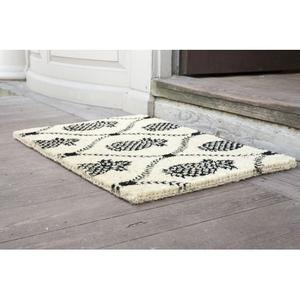 WILLIAMSBURG Pineapple Trellis Handwoven Coconut Fiber Doormat