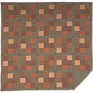 Crosswoods King Quilt 95x105