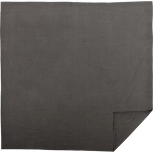 Serenity Grey Queen Cotton Woven Blanket 90x90