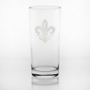 Grand Fleur De Lis Cooler Glasses, Set of 4