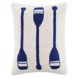 Oar Trio Hook Pillow 12X16 in.