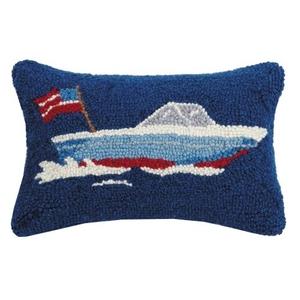 Speed Boat Hook Pillow 8X12 in.