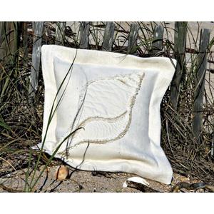 Dove Snail Sea Pillow Two-Tone