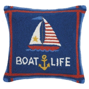 Boatlife Hook Pillow 18X18 in.