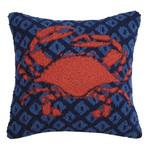Crab Hook Pillow 18X18 in.