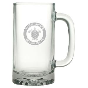 Custom Coordinates Sea Turtle Pub Beer Mug S/4