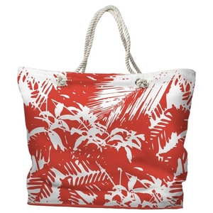 Walker's Cay Island Getaway Tote Bag with Nautical Rope Handles