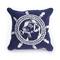 """Liora Manne Frontporch Seadog Indoor/Outdoor Pillow Marine 18"""" Square"""