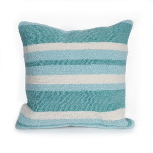 Liora Manne Belmont Squares Indoor/Outdoor Rug Blue