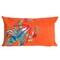 """Liora Manne Visions II Lobster Indoor/Outdoor Pillow Orange 12""""x20"""""""