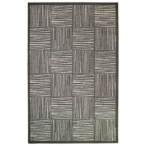 Liora Manne Belmont Border Indoor/Outdoor Rug Grey