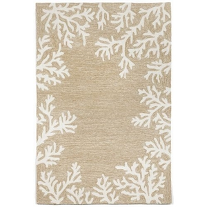 Liora Manne Frontporch Crabs Indoor/Outdoor Rug Natural