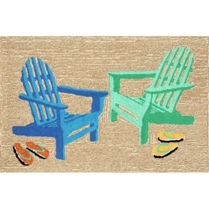 Adirondack Seaside Indoor/Outdoor Rug