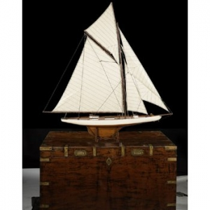 America'S Cup Columbia 1901, Med. Model Yacht