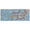 "Liora Manne Frontporch Mermaid Crossing Indoor/Outdoor Rug Water 24""X60"""
