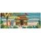 """Liora Manne Frontporch Tiki Hut Indoor/Outdoor Rug Multi 24""""X60"""""""