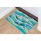 """Liora Manne Illusions Wave Indoor/Outdoor Mat Ocean 19.5""""X29.5"""""""