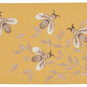 Bees Honey Indoor/Outdoor Rug