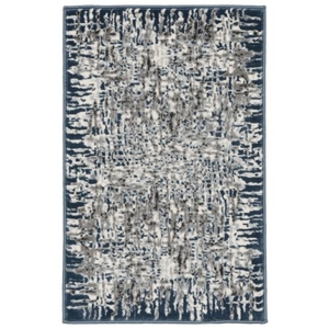 Liora Manne Spello Pebbles Indoor/Outdoor Rug Blue