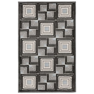 Liora Manne Spello Pebbles Indoor/Outdoor Rug Blue
