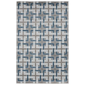 Liora Manne Lalunita Marble Indoor Rug Blue