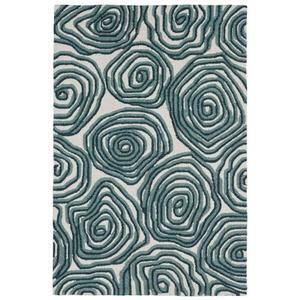 Liora Manne Lalunita Block Print Indoor Rug Green