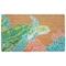 """Liora Manne Natura Seaturtle Outdoor Mat Neutral 18""""X30"""""""