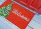 "Liora Manne Natura Winter Welcome Outdoor Mat Red 18""X30"""